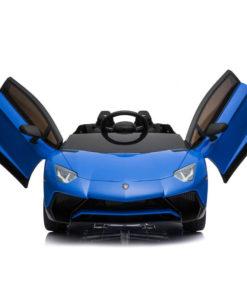 Lamborghini Aventador Lamborghini Kids Rechargeable Car Blue
