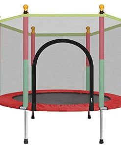4 Feet Children's Bungee Jumping Trampoline Indoor And Outdoor