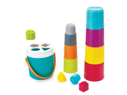 B Kids - Shape Sorting Stack N' Nest Buckets