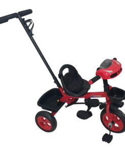 Bronco Tricycle with Handle Red LB-6518