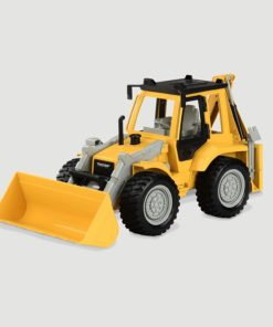 Driven by Battat Backhoe Loader with Light & Sound