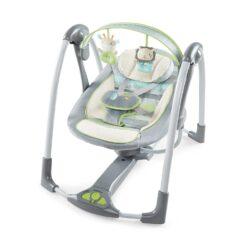 Ingenuity Power Adapt Portable Swing, Vesper/Grey