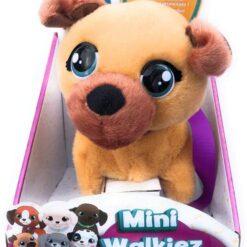 Club Petz Mini Walkiez Interactive Plush Pet Brown