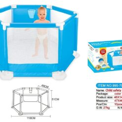 ICW Land Child Safety Fence- Baby Playpen WITH 50 Balls