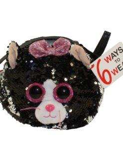 Ty -Fashion Kiki Cat - Shoulder Bag - Sequined 95120-ATL