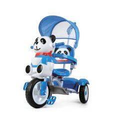 Bear Tricycle With Umbrella For Kids Blue
