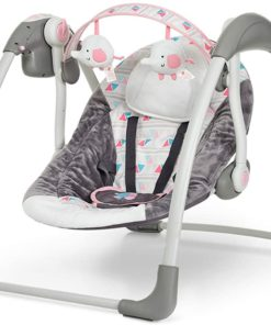 Mastela Deluxe Portable Swing 6504 (Pink)