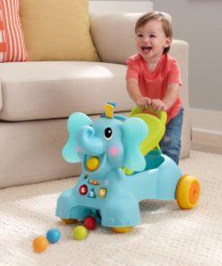 B Kids - 3-in-1 Sit, Walk & Ride Elephant