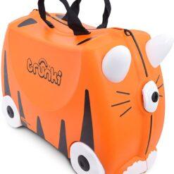 Trunki Tipu The Tiger Ride On Suitcase, Orange
