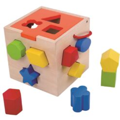 Tooky Toy - Shape Sorter with Colours