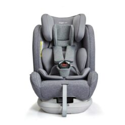 S62 AngelCare Isofix Rotating Carseat Gray