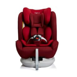 AngelCare Isofix Rotating Carseat Red S62