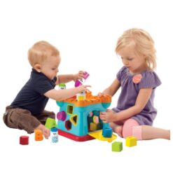 B- Kids Activity Shape Sorting Castle
