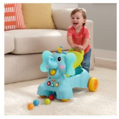 B Kids – 3-in-1 Sit, Walk & Ride Elephant