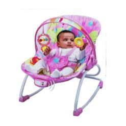 Mastela Newborn to Toddler Rocker for babies pink