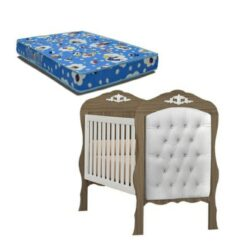 Cradle Bed Realeza With Captone Suede Royalty Beige - 90250