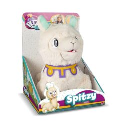 Club Petz, Spitzy The Funny Llama, Interactive Plush Toy, Cream