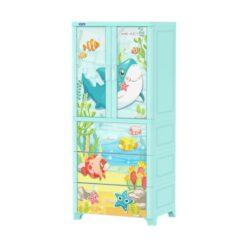 Kids & Adults Plastic Cabinet Drawers Big Size 1158-C/NEMO