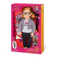 Our Generation Deluxe Mienna Cinema Doll Playset – 18 inches
