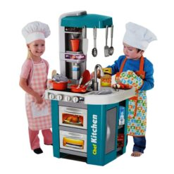 Talented Chef Super Cooking Funny Toy 49 Pieces Play Plastic Kitchen Toys
