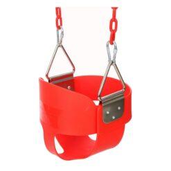 Toddler indoor & outdoor swing Red Blue Green