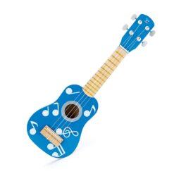 Hape - E0604 Ukulele Blue Guitar for Kids