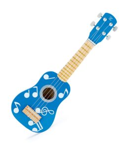 Hape - E0604 Ukulele Blue Guitar for Kids