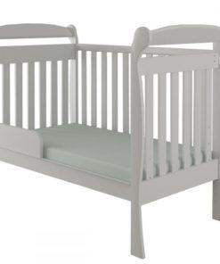 American Cradle Crib Charm White Gloss -Encanto 10041