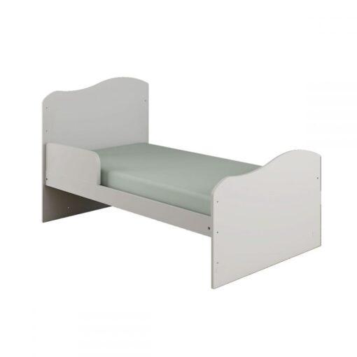 Mini Cradle Munich Fixed Grid White - Canaã Brazil Crib