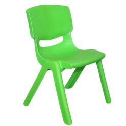 Green Outdoor Kids Stackable Plastic Chair For Kids XRD-0115