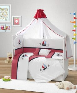 Baby Crib Bumper With Pillow Turkey-120X60KHU