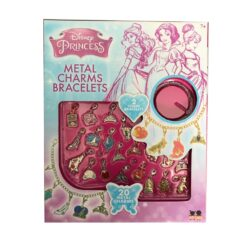 Disney Princess Metal Charms Bracelet Craft Kit