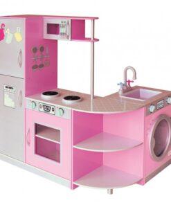 Pink Kitchen Dollhouse Sha-171004