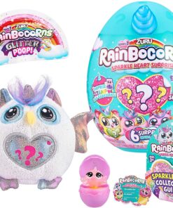 Rainbocorns Sparkle Heart Surprise Series 2 Small Style May Vary
