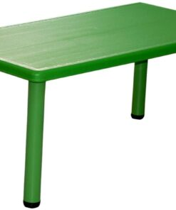 Rectangular Table for Kids Green