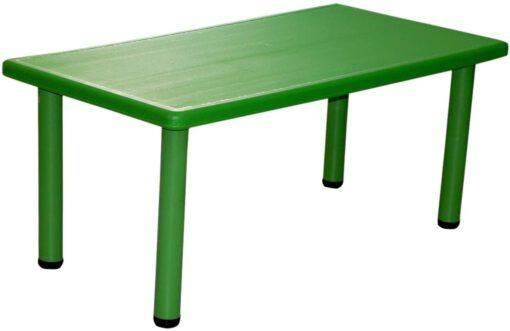 Rectangular Table for Kids Green