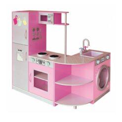 Pink Kitchen Dollhouse Sha - 171004