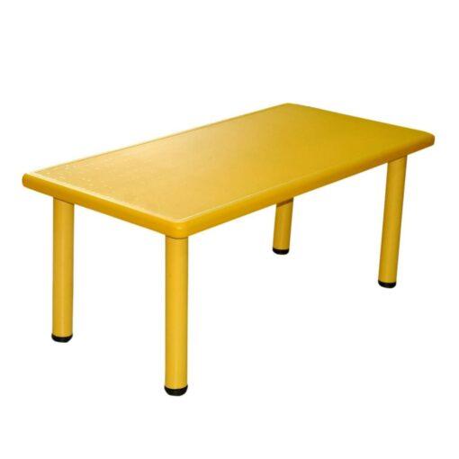 Rectangular Table for Kids Yellow