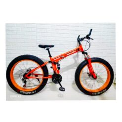 Land Rover Bicycle Foldable Alloy Size 26- Red