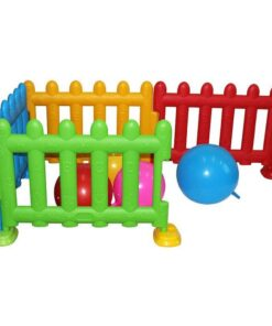 Kids Plastic Play Fence Big - 75 Cm - Playpen