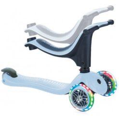 GLOBBER Go Up Sporty Lights Roller azure - 452-200-3