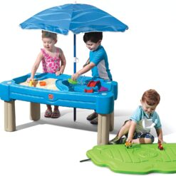Step2 Cascading Cove With Umbrella Water Table 850900