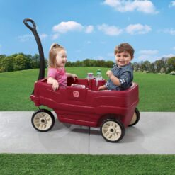 Step2 Neighborhood Wagon Ride On Toy Marron - 890900