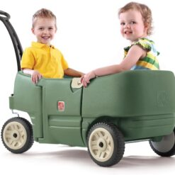Step2 Wagon for Two Plus Willow Green -766500