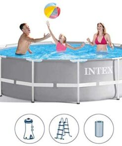 Intex Prism Frame Pools 12ft X 39in (with Pump) - 26716