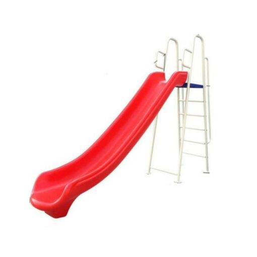 Kids Outdoor Large Slide Height 270cm for Kids-Red