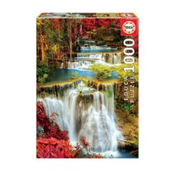 Educa Puzzle 1000 Waterfall In Deep Forest 18461-FG