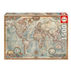 Educa Political Map of The World Puzzle 1500-Piece