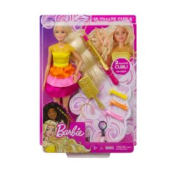 Barbie Ultimate Curls Doll and Playset-GBK24