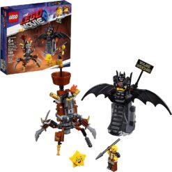 LEGO The Lego Movie 2 Battle Ready Batman And Metalbeard-70836